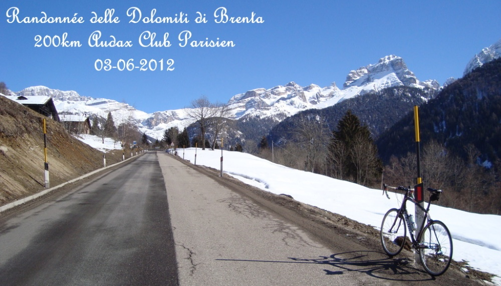 Randonnée delle Dolomiti di Brenta