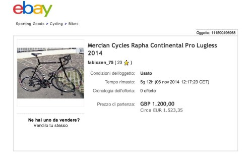Mercian Cycles Rapha Con...Pro Lugless 2014 - eBay-001